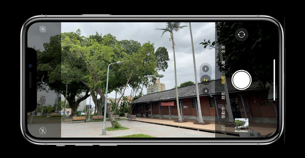 iPhone 11系列的相機功能有很大不同,介面也有不小幅度的改變!(黃慧雯製)