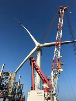上緯:海洋風電第二階段風機安裝完成