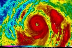 24小時眼牆置換後超威!哈吉貝根本颱風教科書