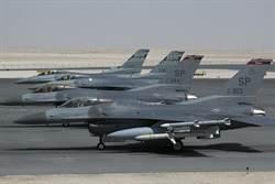 美軍F-16在德國西南墜毀 飛行員輕傷