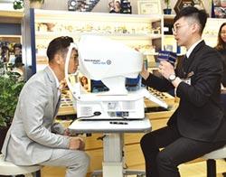 寶島眼鏡大數據出擊 謝祖武體驗極智配鏡