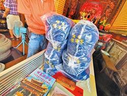 雙十連假 順澤宮增製4000頂冠軍帽