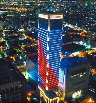 台中之光 7期大樓地標 國慶愈夜愈美麗