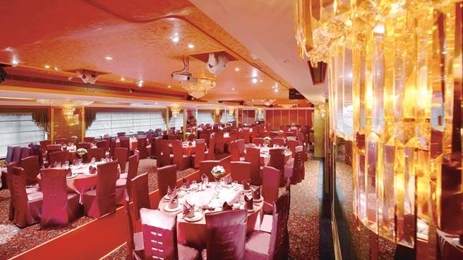 最靠近台北車站的台北天成飯店,以多功能宴會廳-國際廳、翠庭中餐廳與多種獨立包廂,滿足尾牙春酒所需。圖/天成提供