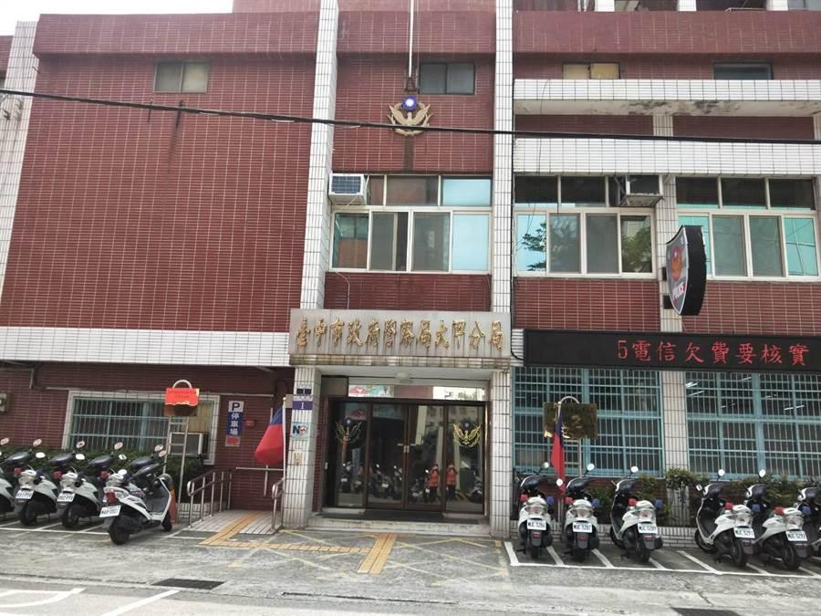 台中市大甲警分局轄區日前發生女子遭大車輾斃意外。(陳淑娥攝)