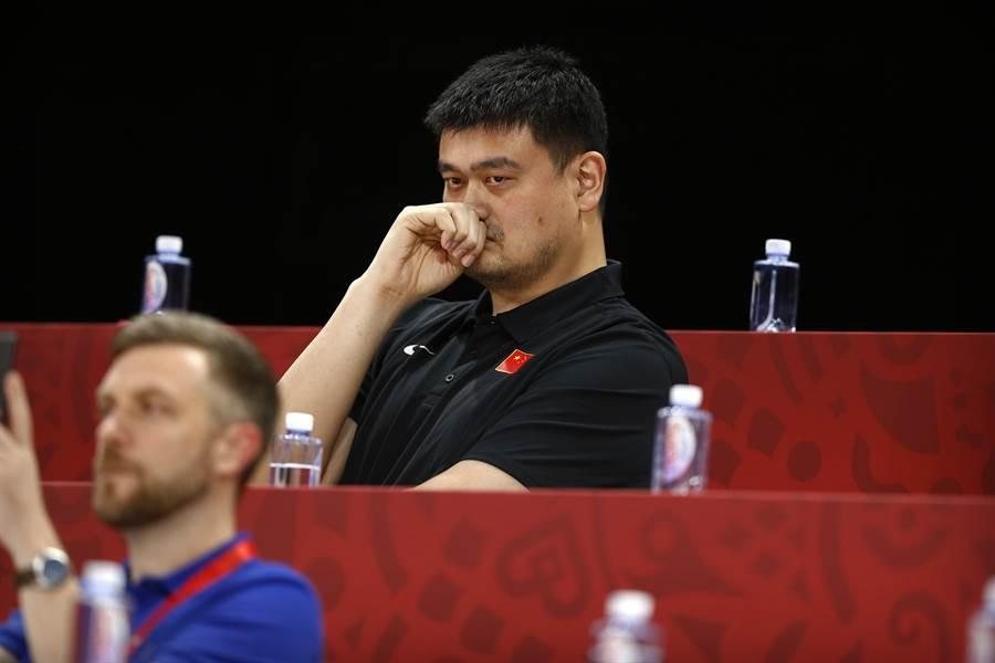 NBA現在把解開與大陸僵局的希望寄託在姚明身上。(圖/美聯社)