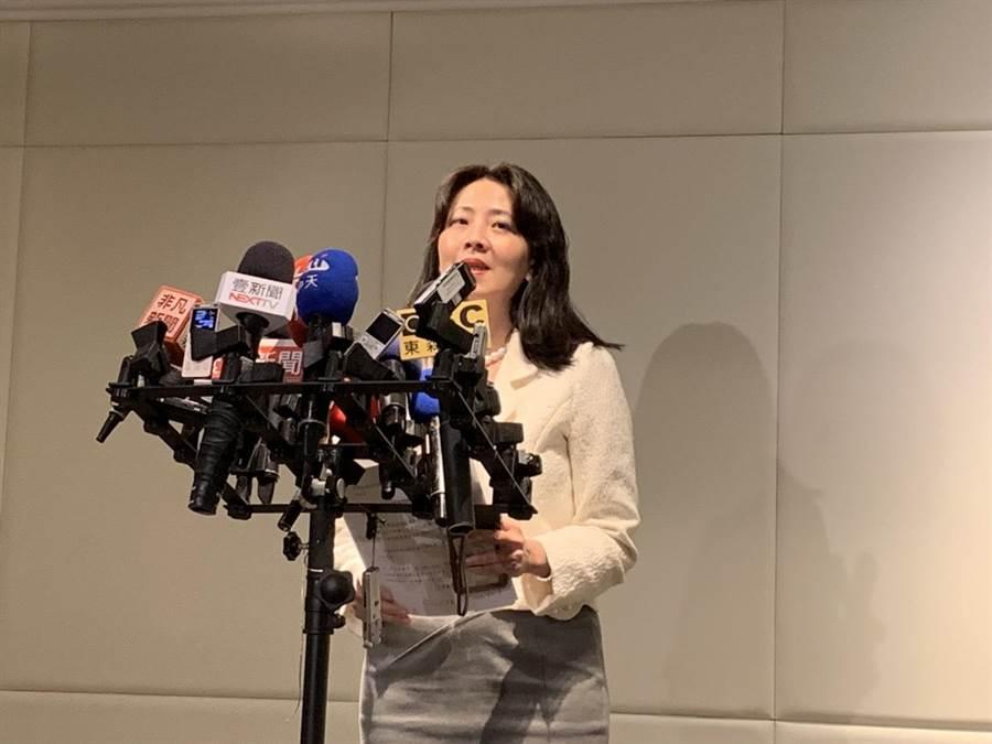 針對安倍賀電疑雲,外交部發言人歐江安今天表示,「不是假的」。(楊孟立攝)