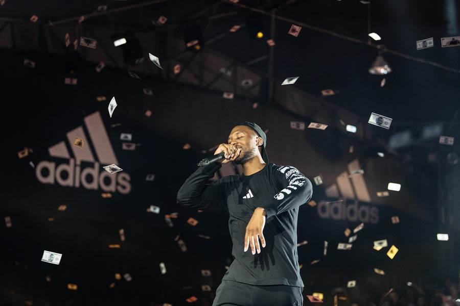 NBA球星Damian Lillard降臨聲林之王(圖/先勢公關提供)