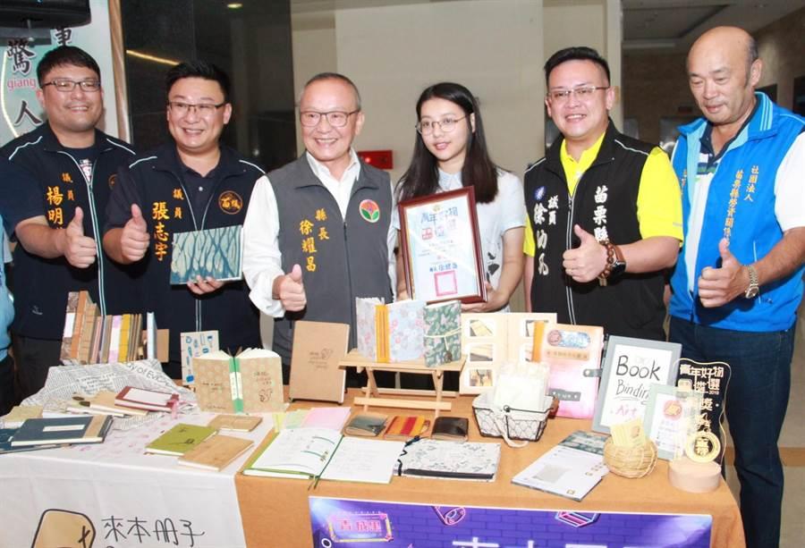 苗栗縣政府鼓勵青年返鄉,並打造友善創業環境讓青年發揮實力。(何冠嫻攝)