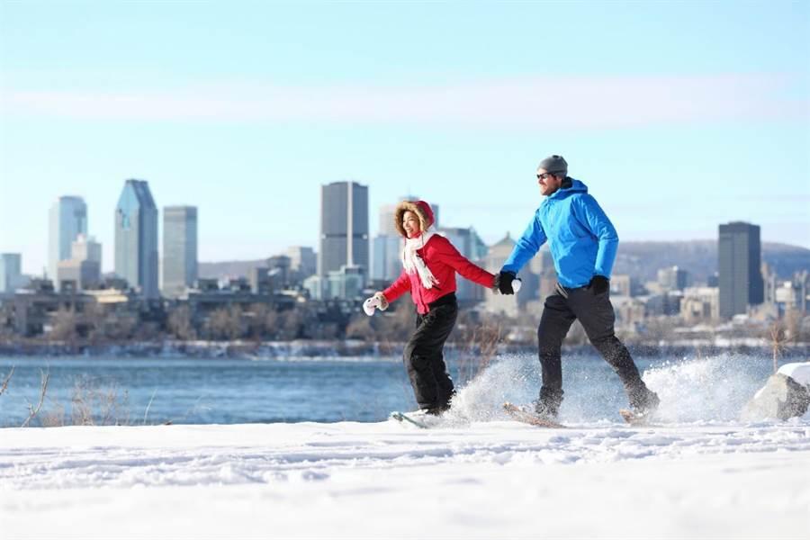 冬季的加拿大可一次體驗多種精彩雪地活動。圖:加航提供