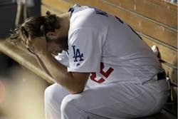 MLB》道奇球迷傻眼 柯蕭中繼軟手挨轟被追平