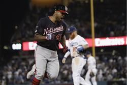 MLB》國民滿貫大逆襲  淘汰道奇闖國聯冠軍賽