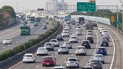 國慶連假湧車潮 國道1號彰化段又塞成大停車場了
