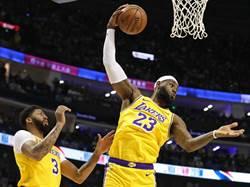 NBA》下三分雨!籃網險勝湖人摘上海賽勝利
