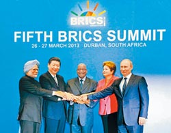 WEF全球競爭力 陸領跑金磚五國