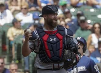 MLB》遭血洗淘汰後 勇士鐵捕麥坎宣布退休