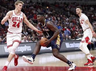 NBA》爆鞋哥狂扣29分 鵜鶘大逆轉