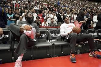 NBA》暫拋莫瑞陰霾 火箭東京賽開胡
