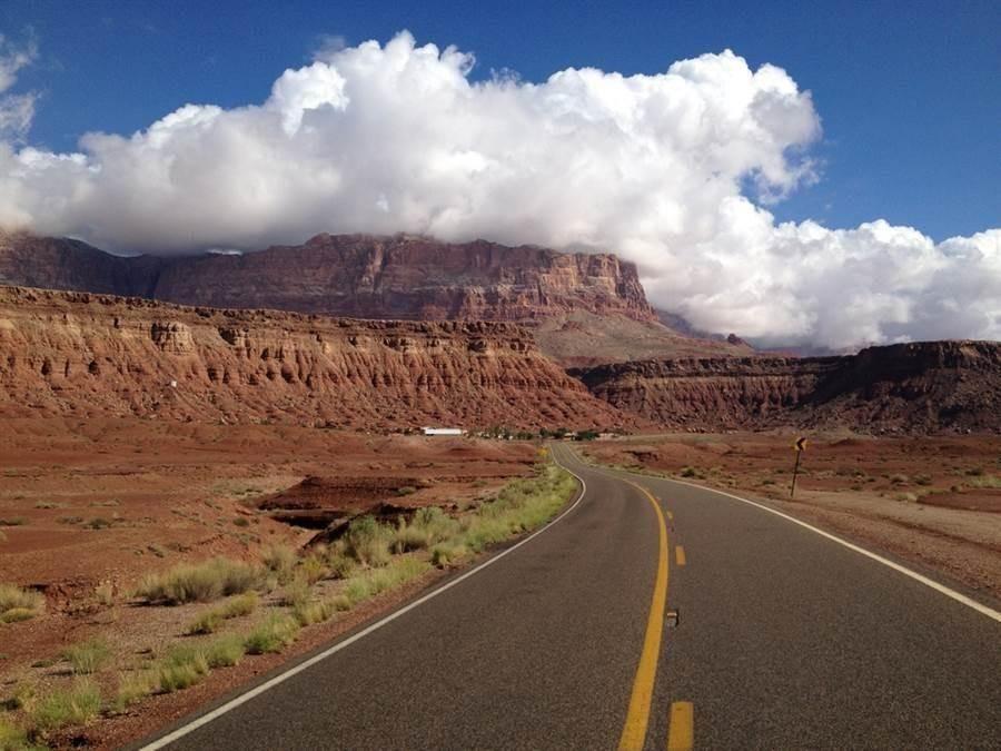 圖為美國大峽谷國家公園。(示意圖/達志影像)
