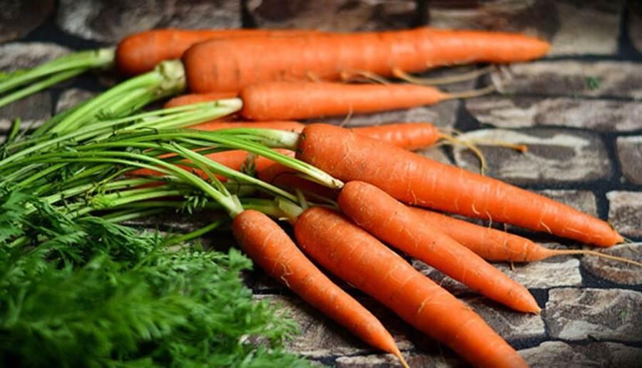 週吃4~6種如香蕉、胡蘿蔔等抗氧化的蔬果,就能降低54%腎臟癌的機率。(圖片來源:pixabay)