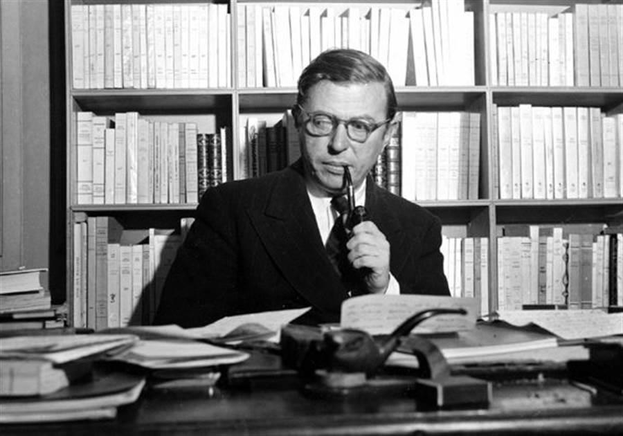 法國哲學家,「存在主義」的沙特,在1964年拒絕領諾貝爾文學獎,沒有特別原因。(圖/美聯社)