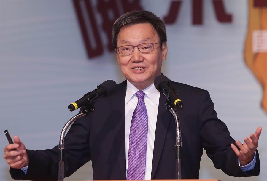 台北論壇基金會董事長蘇起。(圖/季志翔攝)