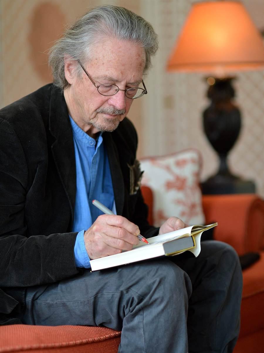 奧地利作家彼得·漢德克。