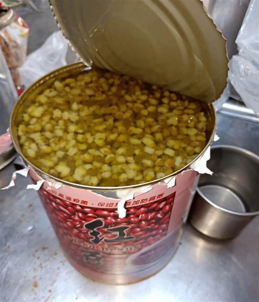 紅豆湯打開變綠豆湯(圖片取自/爆廢公社二館)