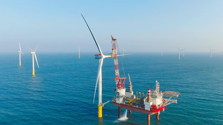 海洋風場竣工。圖/海洋風場提供