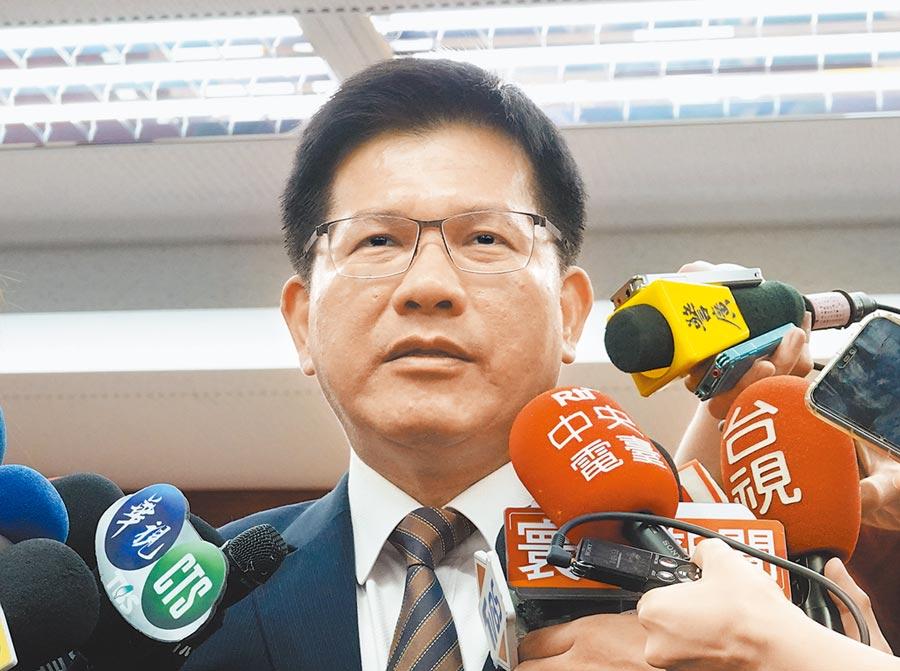 交通部長林佳龍表示,會協助地方改善危橋。(姚志平攝)