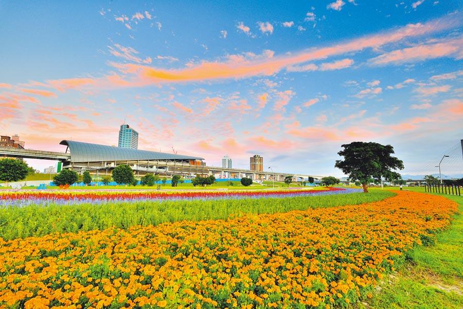 新北大都會公園占地超過400公頃,新北市府將打造國際級共融式公園。(新北市水利局提供/葉德正新北傳真)