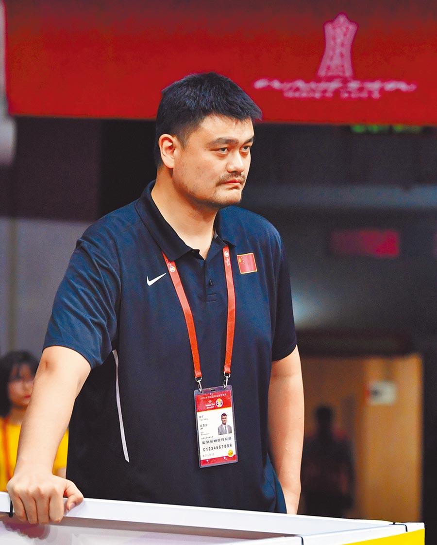 中國籃球協會主席姚明對火箭事件非常憤怒。(新華社資料照片)