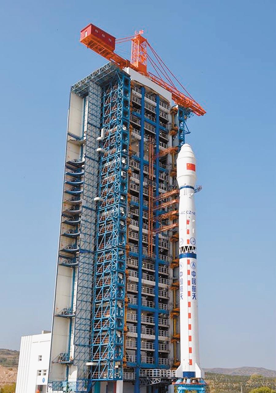 長四丙火箭整裝待發。(取自中國航太科技集團有限公司官網)