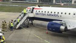 環保團體大鬧倫敦機場 帕運銅牌爬上機頂趴1小時