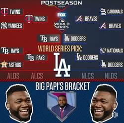 MLB》「冥燈」 老爹發威 季後賽預測隊伍全輸