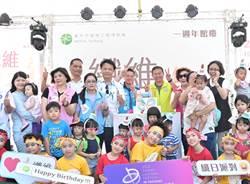 纖維工藝博物館慶周年 投影燈光秀亮眼