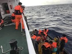 漁船船長中風危急 海巡艦馳騁4天完成千浬海上救援