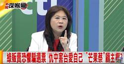 绿贩卖恐惧骗选票 仇中害台爱自己 「芒果蔡」雇主权?