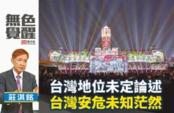 莊淇銘:台灣地位未定論述 台灣安危未知茫然