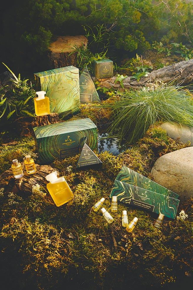 Aromatherapy Associates年度節慶禮盒限量上市。(Aromatherapy Associates提供)