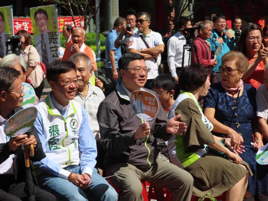 卓榮泰表示,要韓國瑜向中共高官說明他的兩岸政策。(葉德正攝)