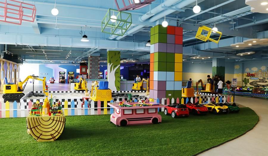 麗寶國際賽車場攜手中華車會,共同打造「兒童交通安全教育中心」,提供寓教於樂的室內交通安全展館。(麗寶國際賽車場提供/王文吉台中傳真)