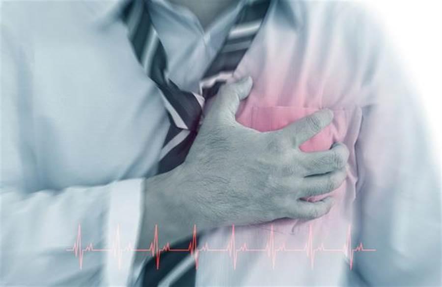 心血管疾病是中老年人頭號殺手,其實可自測血管年齡,作為預防的手段。(達志影像/shutterstock)