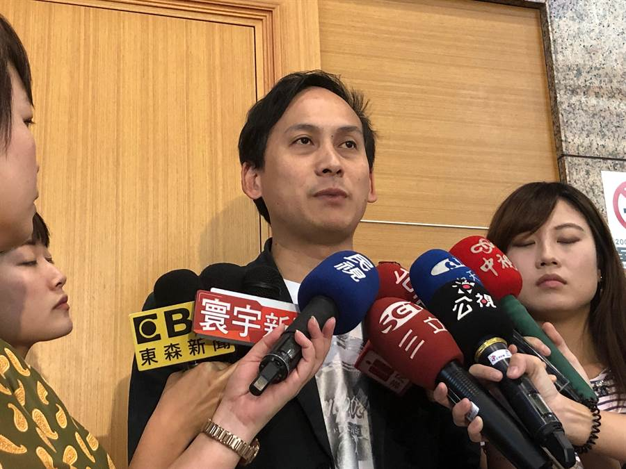 國民黨總統參選人韓國瑜的發言人葉元之。(趙婉淳攝)