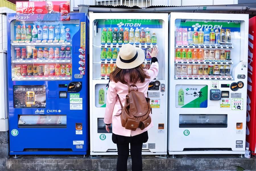 自動販賣機示意圖,與本文無關。(圖/達志影像)