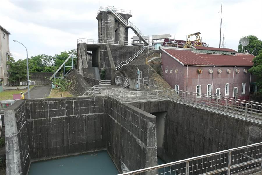 發電長達81年的濁水發電廠2004年除役,目前是雲林縣縣定古蹟。(周麗蘭攝)