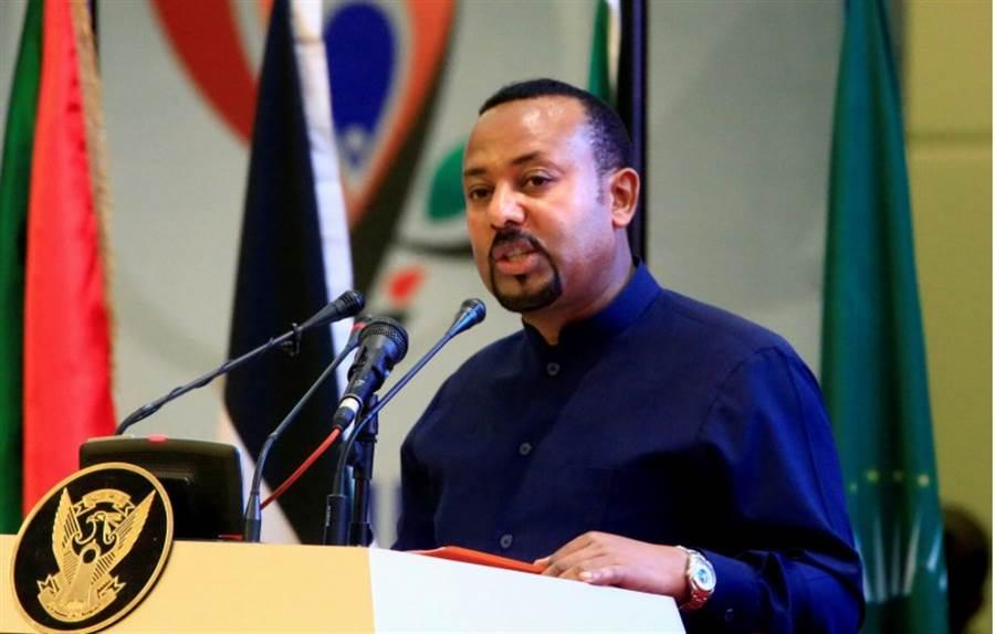 衣索比亞總理阿邁德因推動和平與國際合作,榮獲今年的諾貝爾和平獎。(路透)