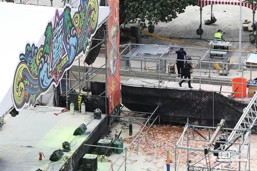 八仙樂園因為受外包廠商意外造成「塵爆事件」影響,已歇業關園,更讓所屬地區八里更沒落。(資料照)