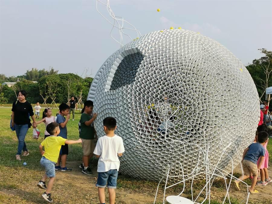 台南山上花園水道博物館是兼具遊憩、休閒、教育的觀光景點。(劉秀芬攝)