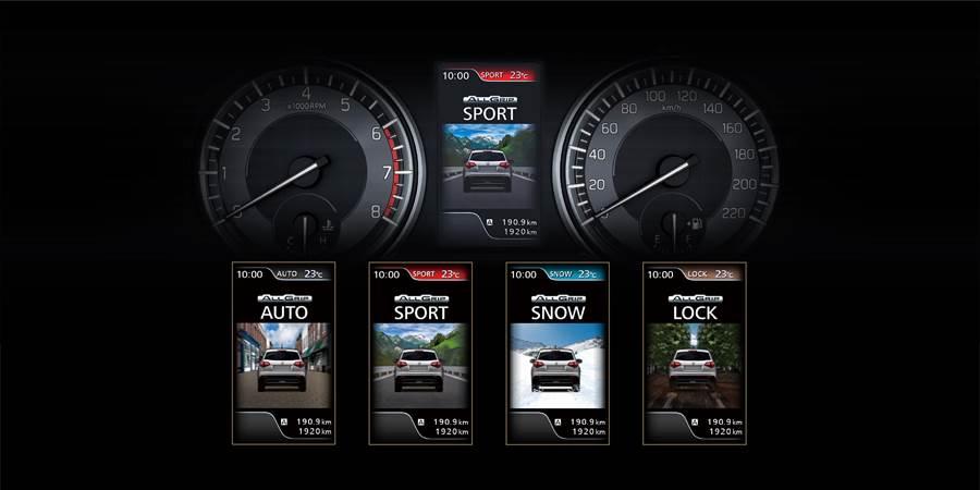 VITARA擁有多項駕駛模式選擇,可供車主因應不同路況切換。(TAIWAN SUZUKI提供)